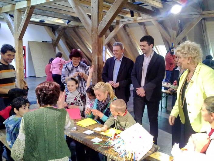 Mansarda cu flori, concurs de pictură pentru copii și atelier pentru vârsta a 3-a 3