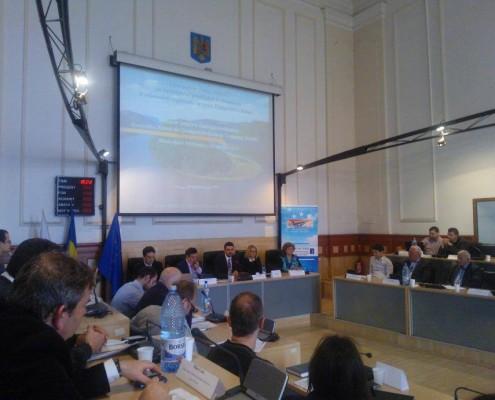 Lansarea Centrului de Competitivitate și Training al Strategiei Uniunii Europene pentru Regiunea Dunării, aprilie 2014