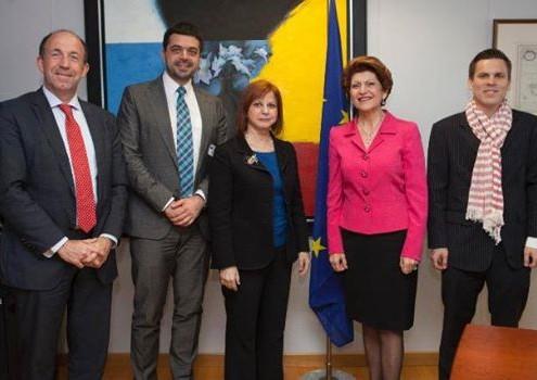 Întâlnire cu Comisarul European pentru Educație, Cultură, Multilingvism și Tineret, mai 2014