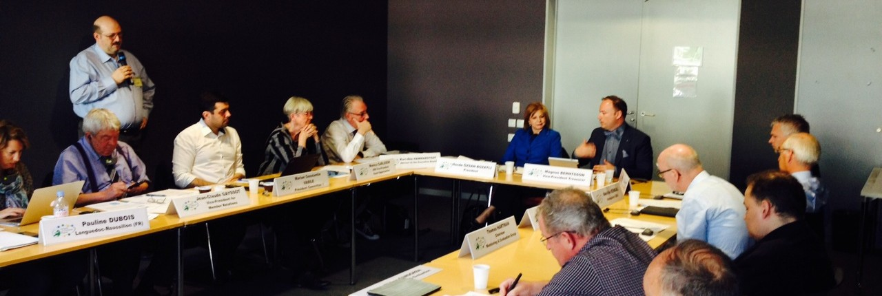 Ședință plenară a Comisiei Economice și de Dezvoltare Regională a ARE, Strasbourg 8