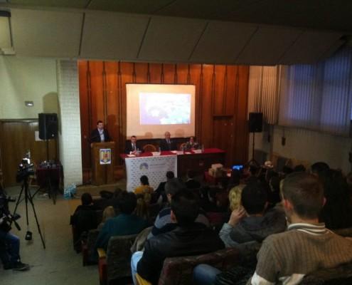"""Participare la proiectul """"10 pentru Europa"""" al Tineretului Național Liberal, martie 2014"""
