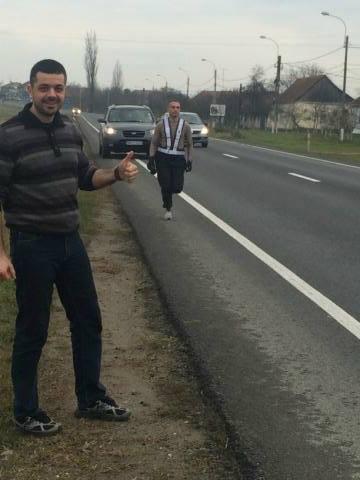 """Ștafeta Brigăzii 18 Infanterie """"Banat"""" în cadrul crosului """"Stele Pentru Veterani"""", de Ziua Națională a României, decembrie 2014"""
