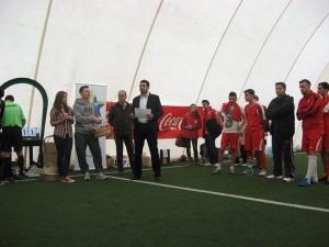 Campionat universitar de minifotbal, etapa 1, cu echipe din vestul tarii, 2014 1