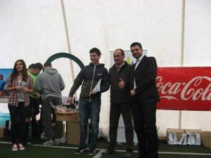 Campionat universitar de minifotbal, etapa 1, cu echipe din vestul tarii, 2014 4