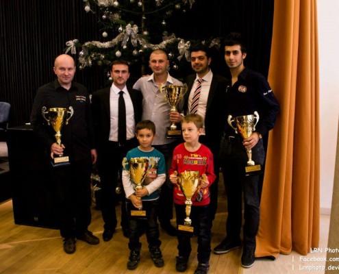 Cei mai buni sportivi din judetul Timis au fost premiati de catre Consiliul Judetean, decembrie 2012