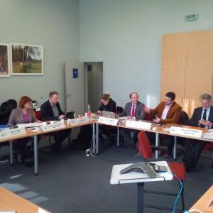 Sedinta de Birou Executiv, Strasbourg, 2014 2