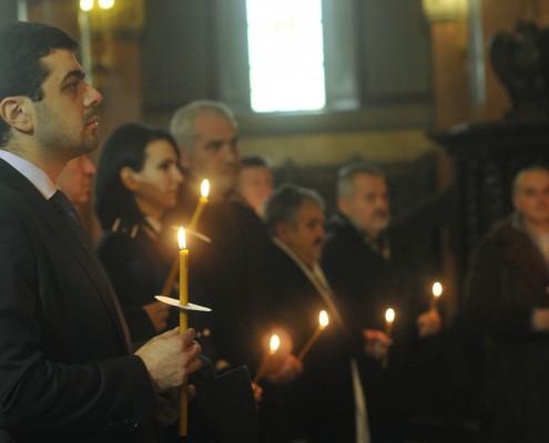 Comemorarea Revoluției din 1989, Catedrala Mitropolitană Timișoara, decembrie 2012