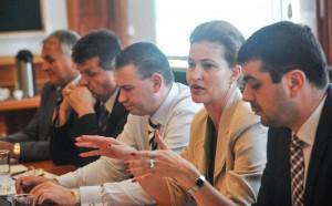Dezbatere organizată de Agenția Națională de Presă AGERPRES despre regionalizare, iulie 2013 1