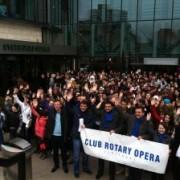 """Proiectul """"Premii pentru premianți"""" al clubului Rotary Opera Timișoara, decembrie 2013"""
