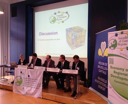 Ședința plenară a Comisiei Economice și de Dezvoltare Regională a Adunării Regiunilor Europene, noiembrie 2013