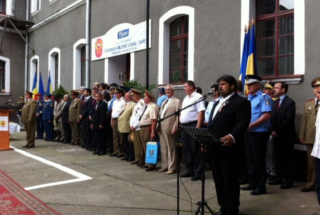 Moment aniversar la Centrul Militar Zonal Timis, 2014 2