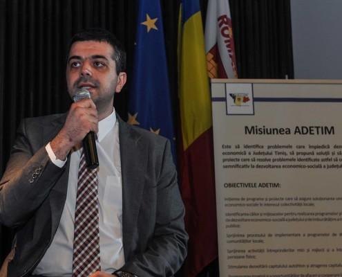 Conferință de afaceri desfășurată în cadrul programului național AFACERI.RO, iunie 2015