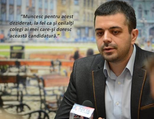 Asumarea intenției de a candida în 2016 pentru președinția Consiliului Județean Timiș 2