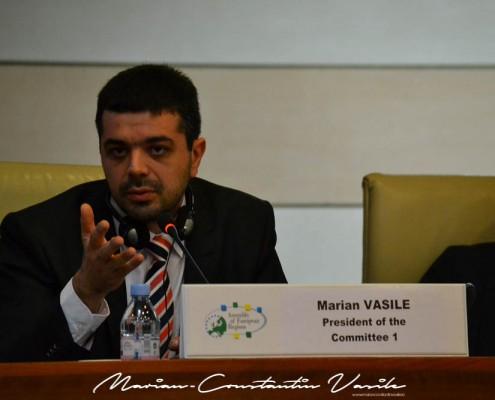 Câștigarea președinției Comisiei Economice și de Dezvoltare Regională a ARE, mai 2013