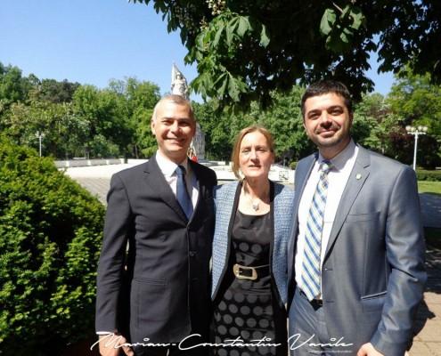De Ziua Europei, impreuna cu prietenul meu, domnul José Miguel Viñals - consul onorific al Spaniei la Timisoara, mai 2014