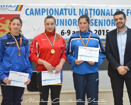 Festivitatea de premiere a canotorilor participanți la Campionatul Național De Fond