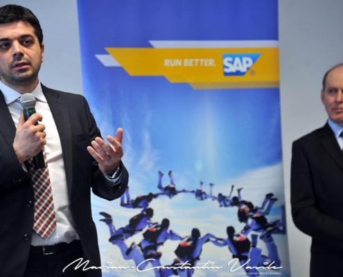 Inaugurarea centrului SAP Timişoara, martie 2013