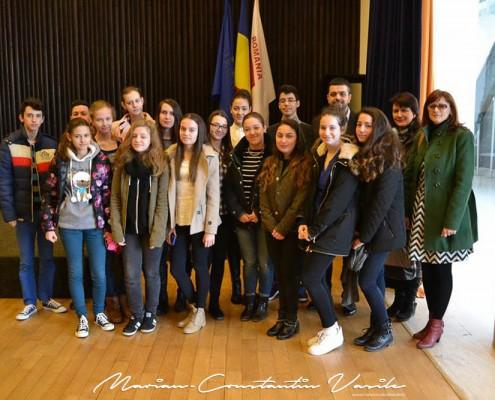 """Întâlnire organizată în cadrul """"Săptămânii Altfel"""" la Consiliul Județean Timiș, aprilie 2015"""