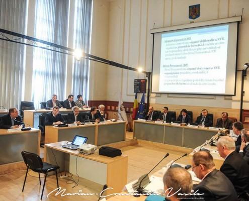 Prima Adunare Generală a Consiliului Consultativ Economic al Timișoarei, aprilie 2015