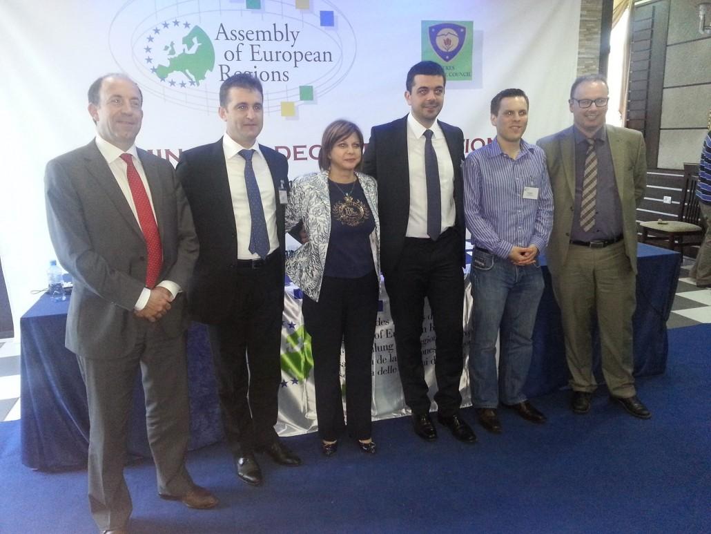 Marian Vasile, discurs despre descentralizare, in Albania
