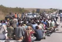 Migranti blocati la Edirne - Sursa: captura You Tube