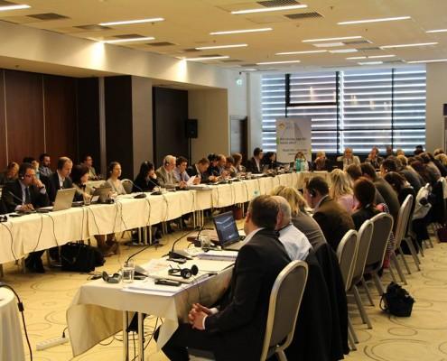Ședința de negociere a programului România-Ungaria 2014-2020, aprilie 2014