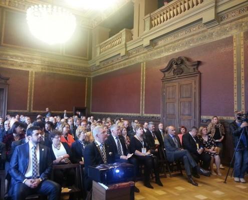 Aniversarea a 85 de ani de la înființarea Clubului Rotary Timișoara și a 20 de ani de la reînființare, mai 2014