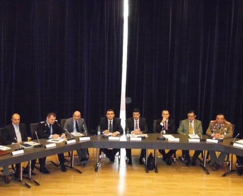 Ședința Colegiului Național de Apărare, cu ocazia aniversării a 10 ani de la intrarea României în NATO, noiembrie 2014