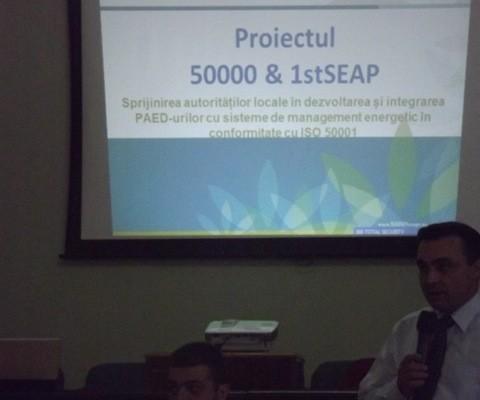 Seminar privind managementul energiei și Planurile de Acțiune pentru Energie Durabilă 2