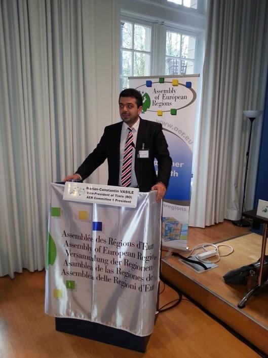 Conferință a Adunării Regiunilor Europene pe tema inovării, noiembrie 2013