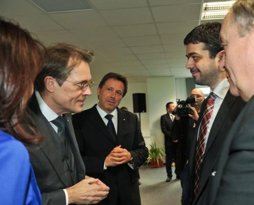 Participare la inaugurarea Centrului Administrativ Hella Timișoara, martie 2013
