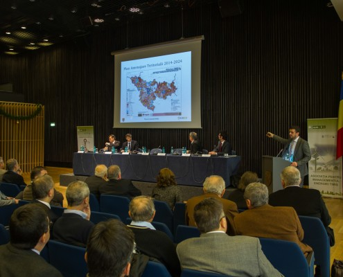 Lansarea Masterplanului Energetic al județului Timiș, primul document strategic de acest gen din România, decembrie 2013