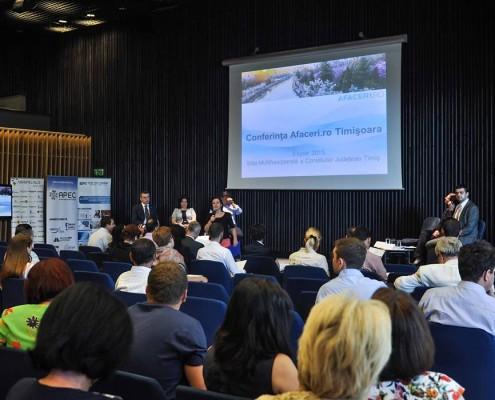 Conferință de afaceri, în cadrul programului național AFACERI.RO 1