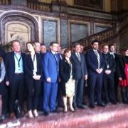 Cu ei s-a intalnit la Bruxelles vicepresedintele CJT