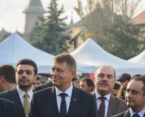 Campania electorală pentru Președinția României, octombrie 2014