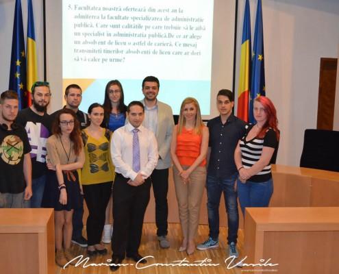 Dezbatere pe tema administrației publice și politicii, mai 2015