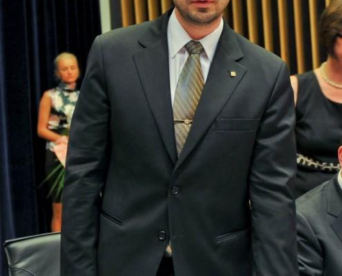 Desemnarea pentru funcţia de vicepreşedinte al Consiliului Judeţean Timiş, iunie 2012