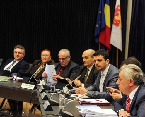 Ședința plenară a Consiliului Județean Timiș