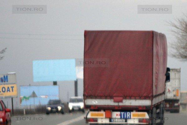 Trafic pe drumurile din judetul Timis - Foto TION